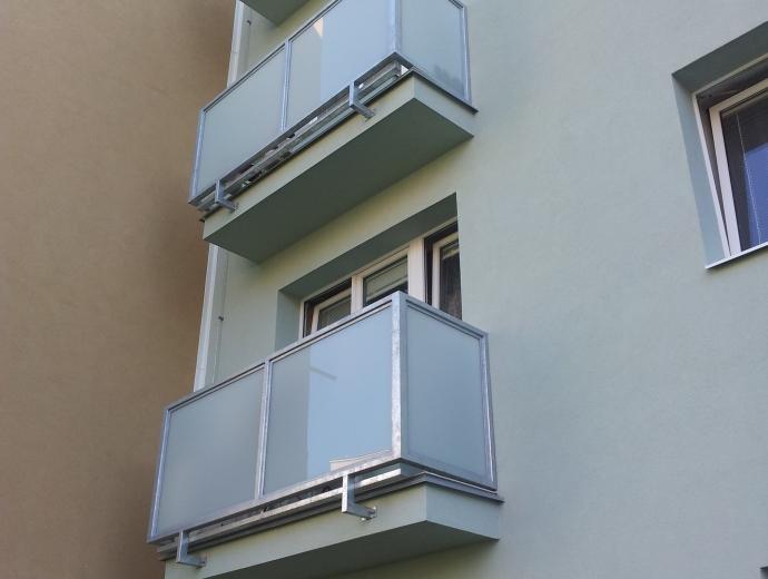 po sanaci balkonů