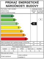 Průkaz energetické náročnosti budovy dle vyhl. 148/2007 Sb.